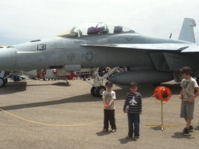 On the 2011 Planes of Fame Airshow