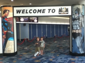 On Attending a Comic-Con with MyBoys.